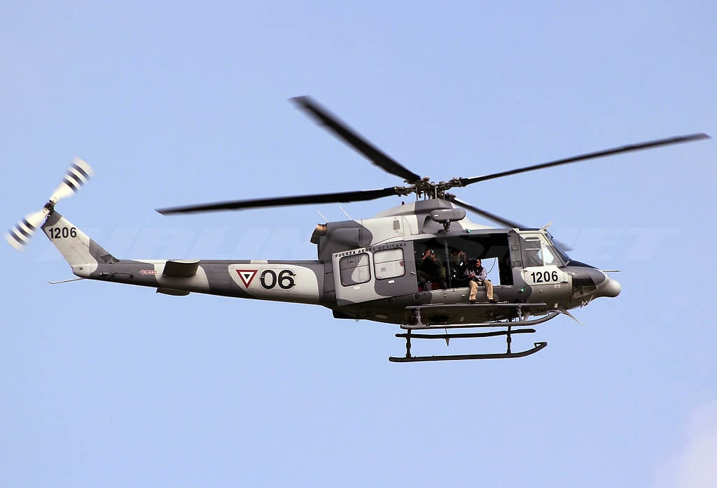 Bell 412EP mexicain