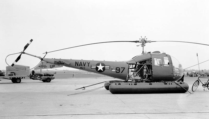 Bell UH-13R Sioux de l'US Navy