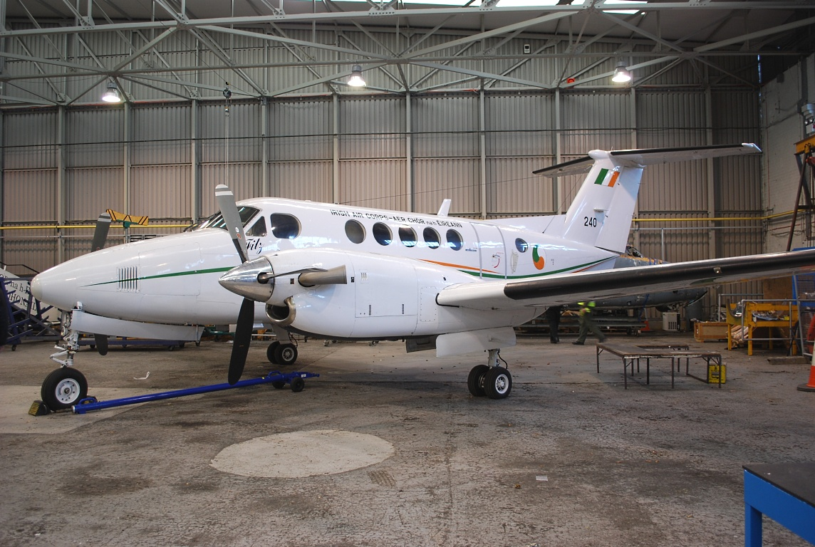 Beech 200T Super King Air irlandais