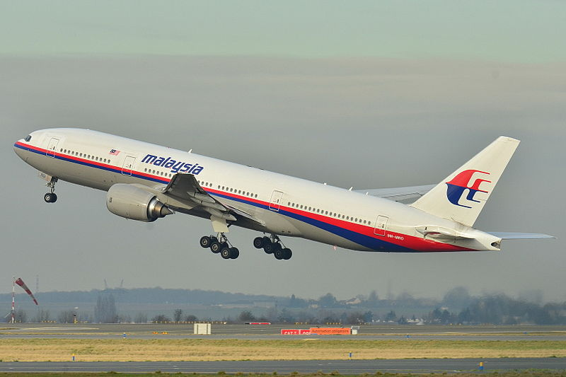 Boeing 777-200ER de Malaysia Airlines