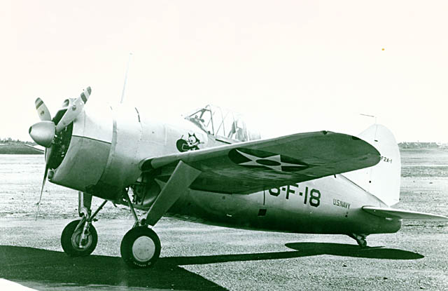 Brewster Buffalo (F2A-1) de l'US Navy