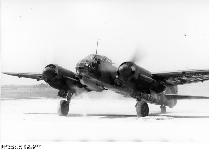 Junkers Ju 88 au roulage