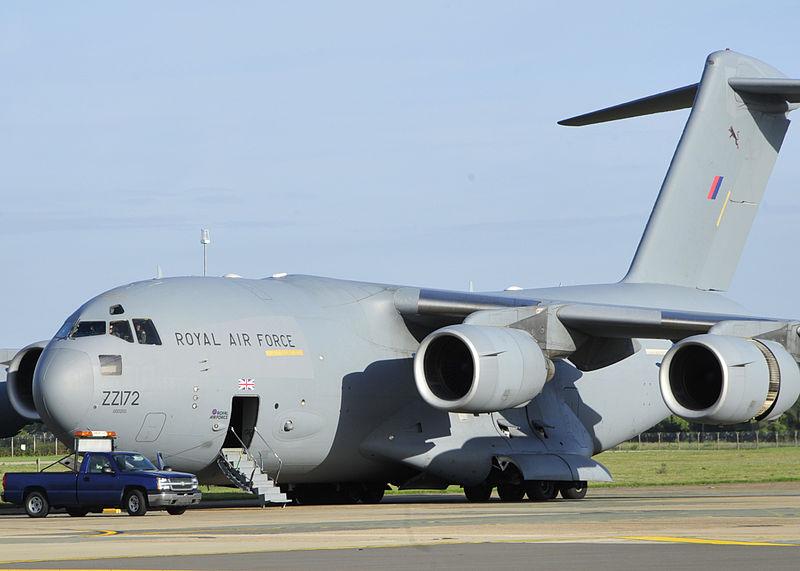 Boeing C-17A Globemaster III de la RAF