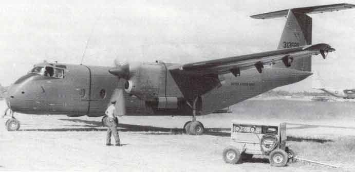 De Havilland Canada DHC-5 Buffalo (CV-7A) de l'US Army