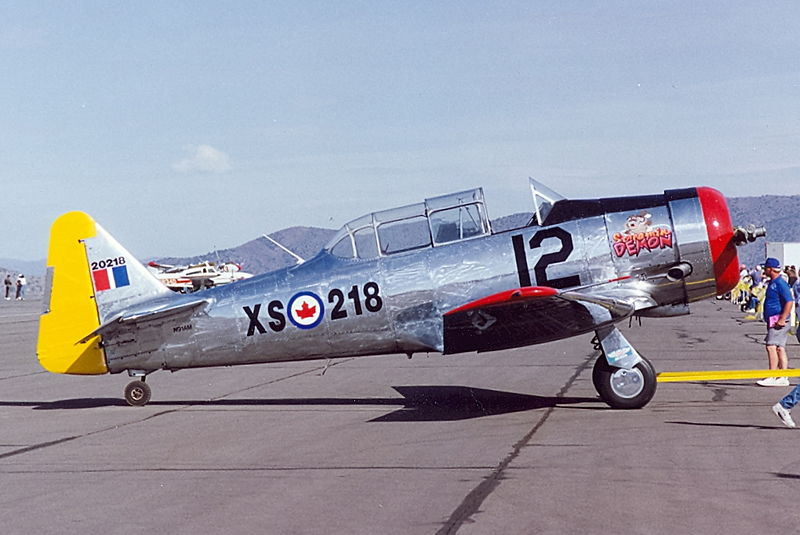 North American T-6 Texan (Harvard Mk IV) canadien