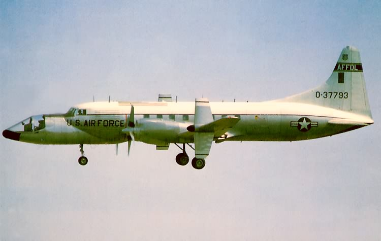 Convair NC-131H en vol