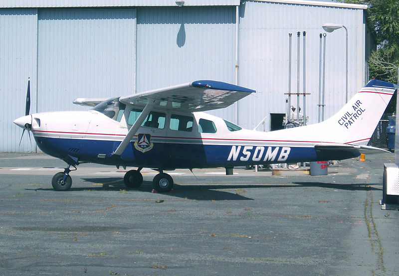 Cessna U206G Stationair du Civil Air Patrol