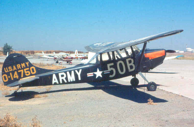 Cessna O-1 Bird Dog (TO-1A) de l'US Army