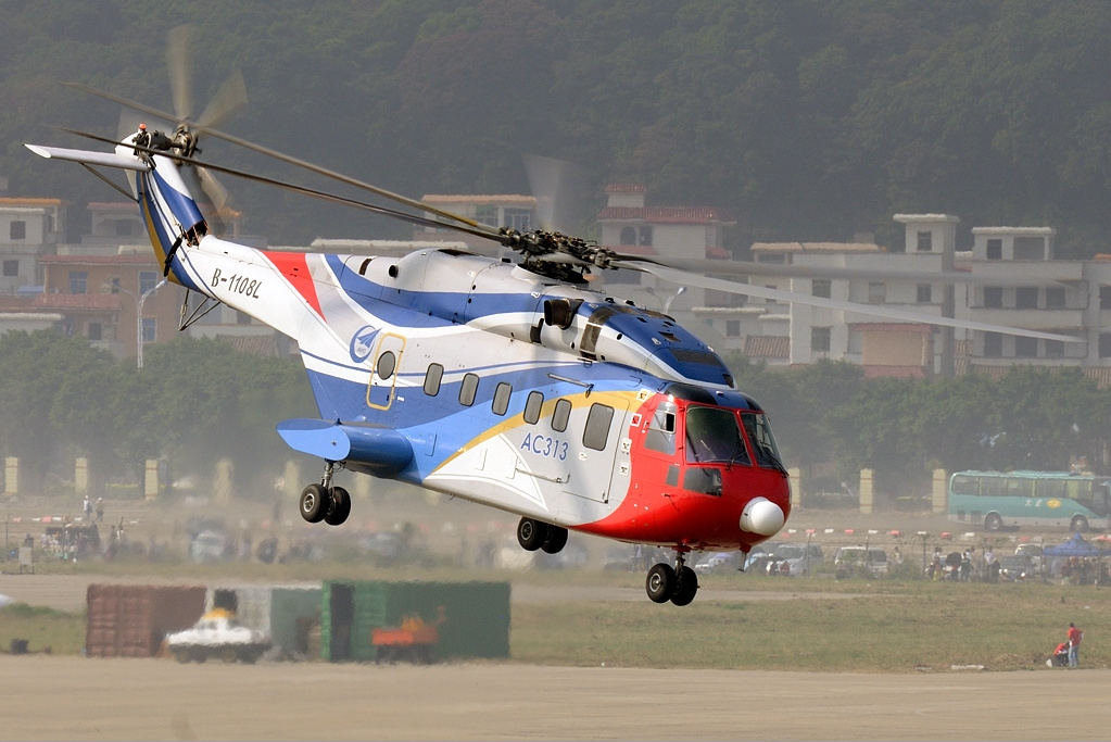 Changhe Z-18 (Avicopter AC313) en vol