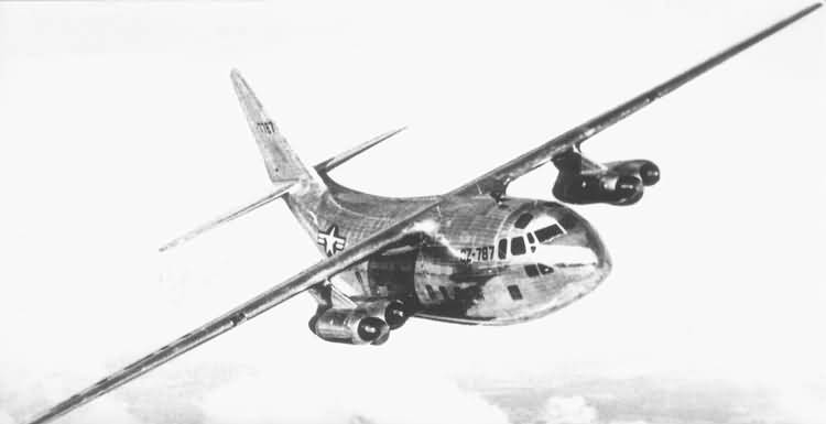 Fairchild XC-123A Provider en vol