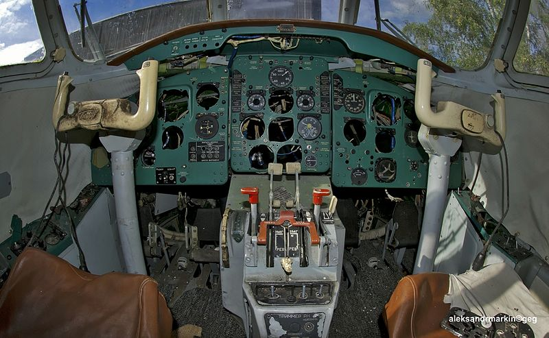 Beriev Be-32 Cuff - Cockpit