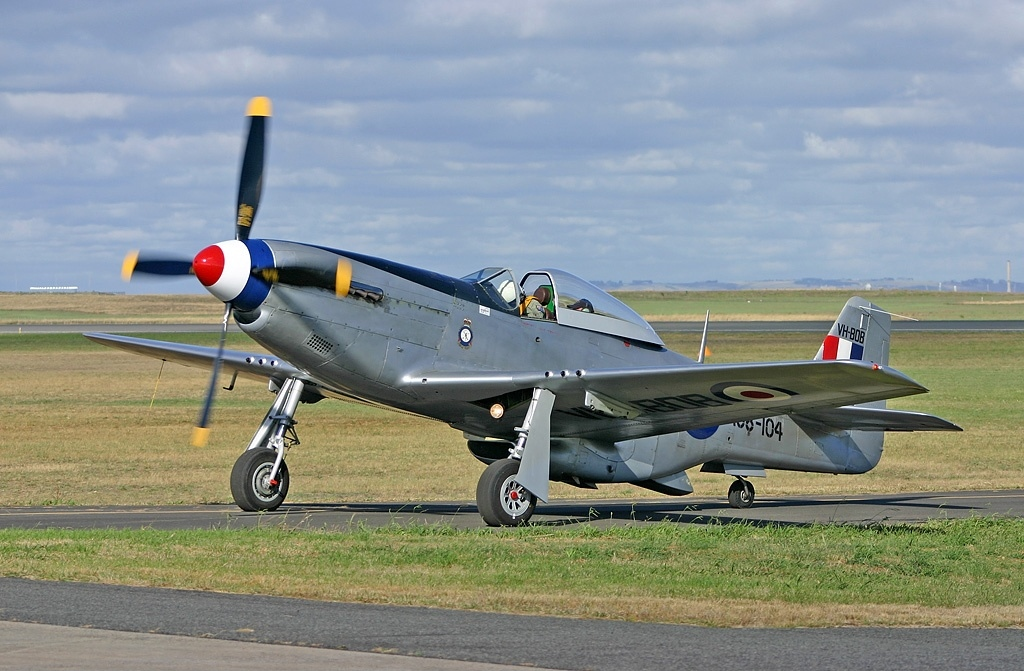 North American P-51 Mustang (CA18) aux couleurs australiennes
