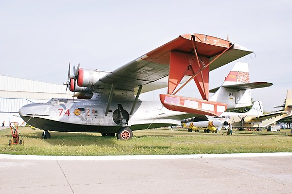 Consolidated PBY-5A Catalina aux couleurs espagnoles