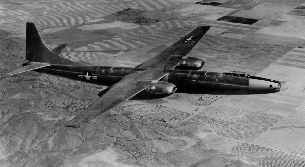 Convair XB-46 en vol