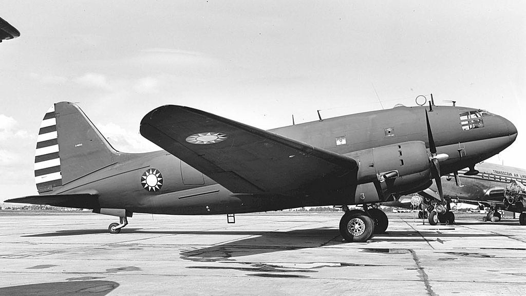 Curtiss C-46D Commando taïwanais