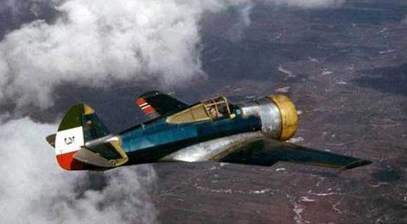 Curtiss P-36 (Hawk 75A-9) iranien