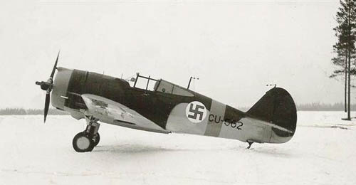 Curtiss P-36 (Hawk 75A-3) finlandais