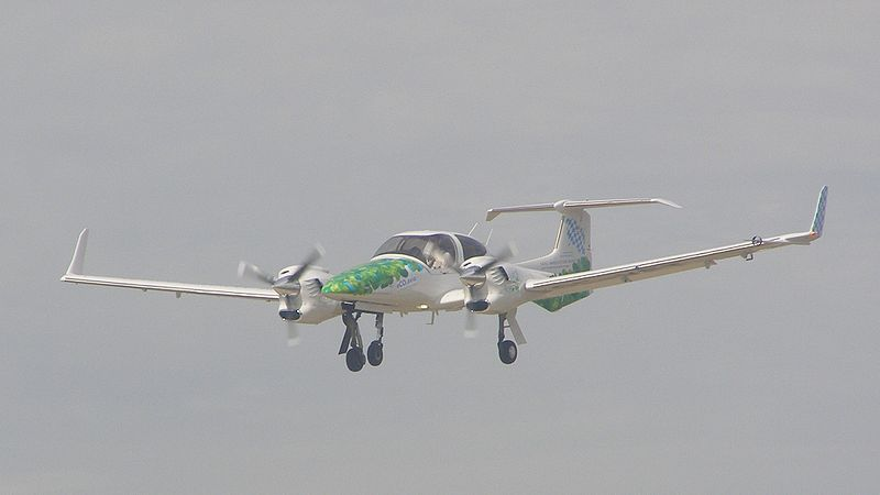 Diamond DA42 Twin Star train sorti