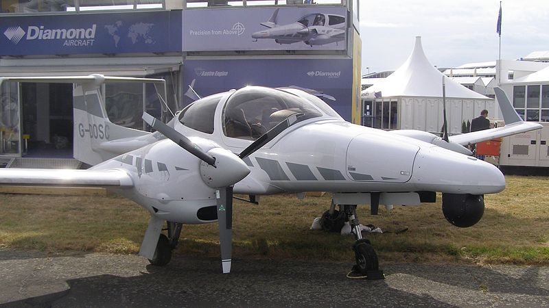 Diamond DA42MPP Twin Star au statique