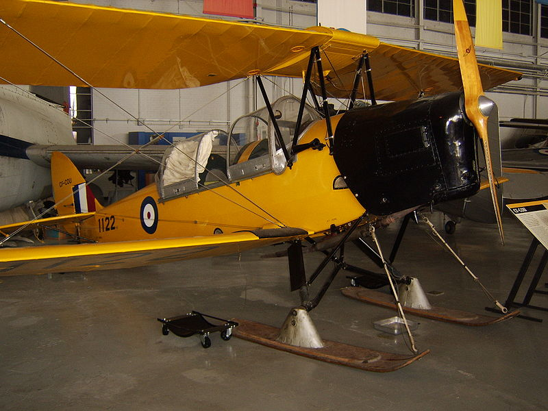 De Havilland DH-82C Tiger Moth canadien