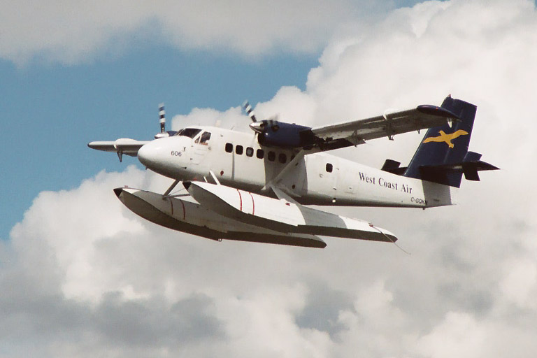 De Havilland Canada DHC-6 Twin Otter hydravion civil