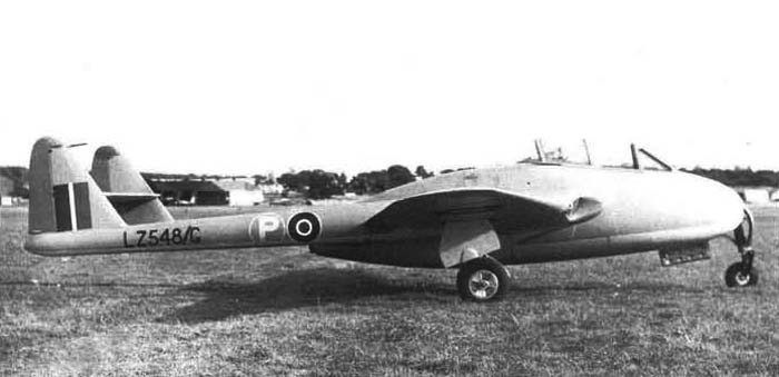 De Havilland DH-100 Vampire - Prototype