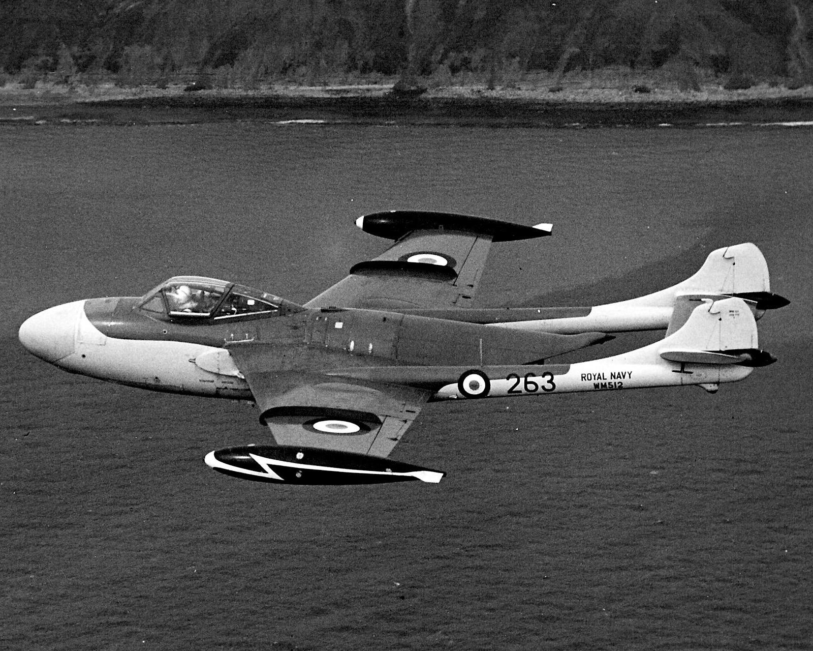 De Havilland DH-112 Sea Venom FAW.20 de la Royal Navy