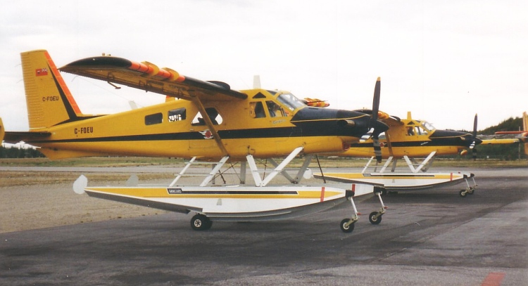 De Havilland Canada DHC-2 Turbo Beaver III civils