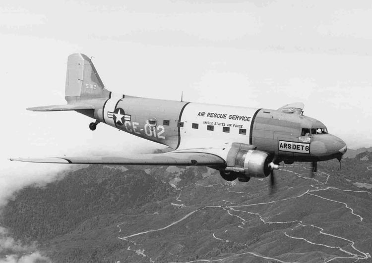 Douglas HC-47D Dakota de l'Air Rescue Service