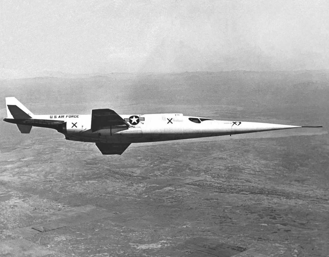 Douglas X-3 Stiletto en vol