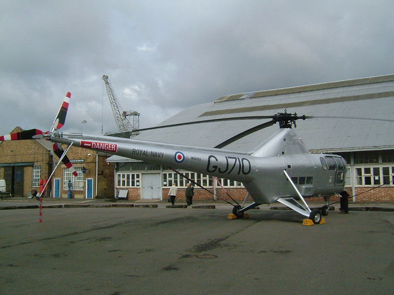 Westland WS.51 Dragonfly de la Royal Navy