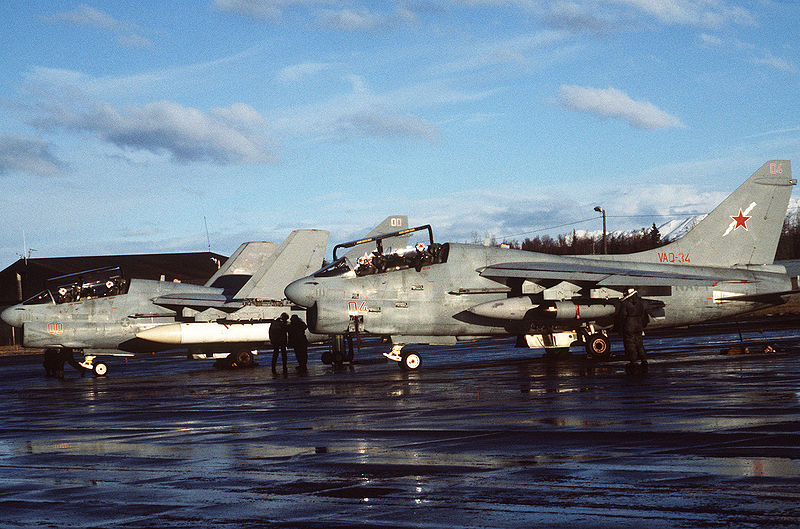 Vought A-7 Corsair II (EA-7L) de l'US Navy