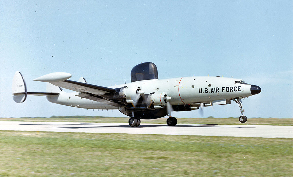 "Lockheed EC-121M Warning Star ""Rivet Top"" de l'USAF"