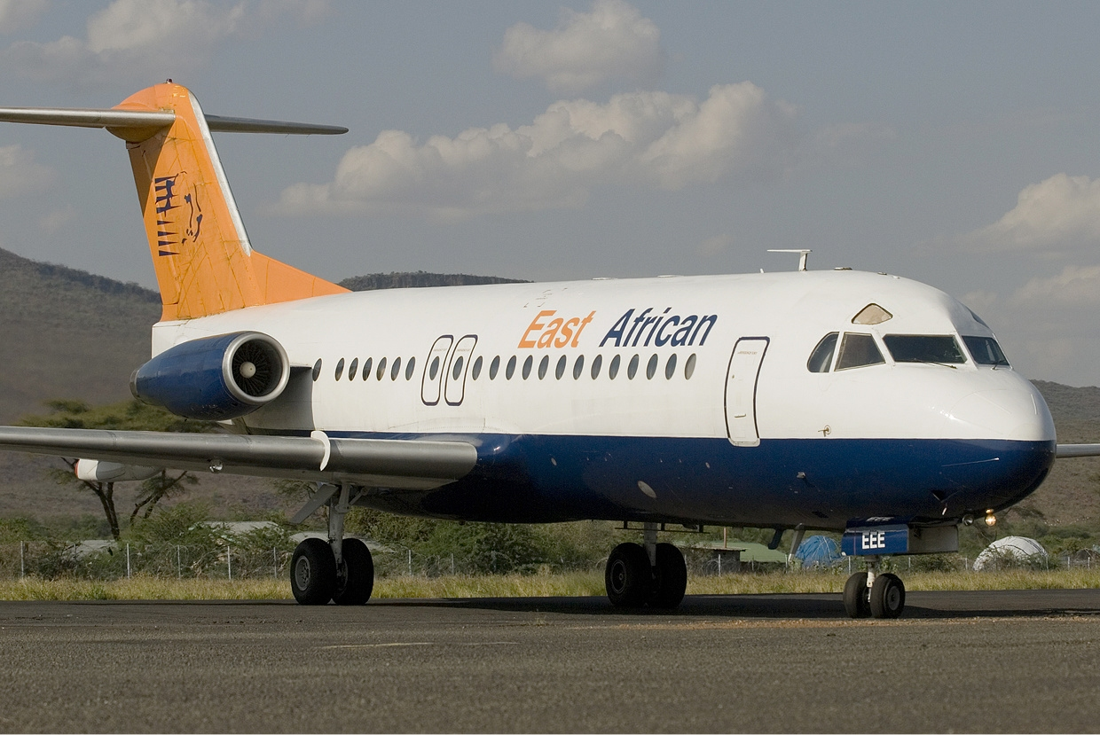 Fokker F28-4000 Fellowship civil