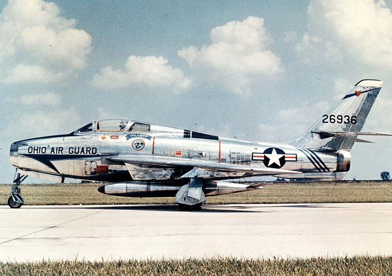 Republic F-84F Thunderstreak de l'ANG