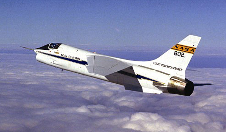 Vought F-8 Crusader (F-8C) de la NASA