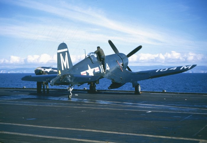 Vought F4U-4 Corsair de l'US Navy