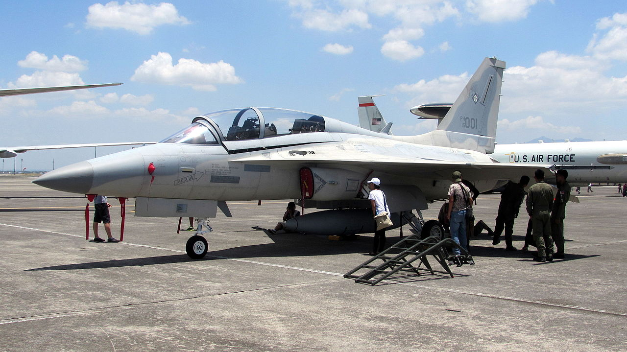 KAI T-50 Golden Eagle (FA-50PH) philippin au statique