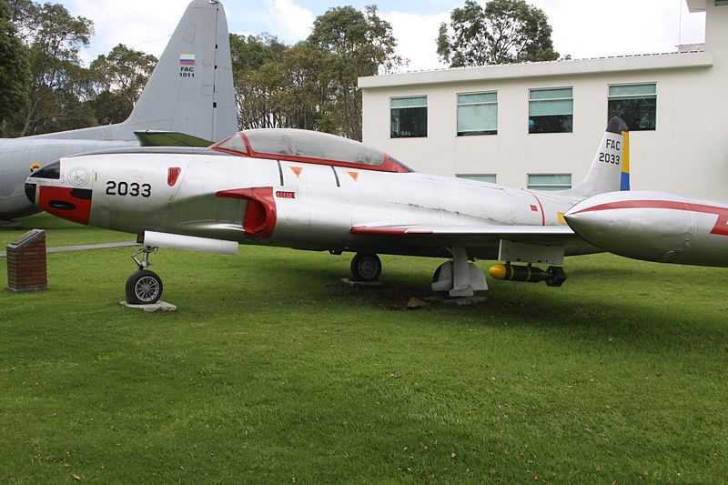 Lockheed T-33A colombien