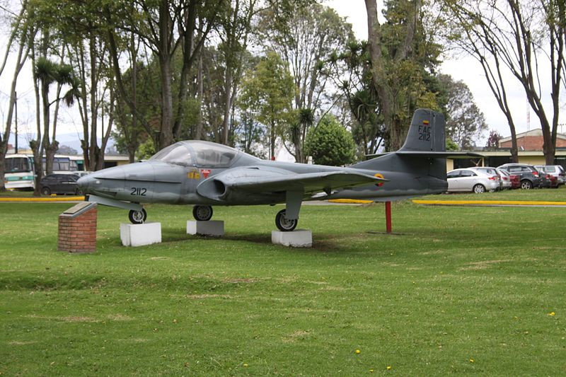 Cessna T-37B Tweety Bird colombien