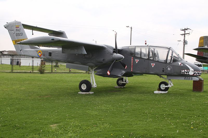 North American OV-10A Bronco colombien