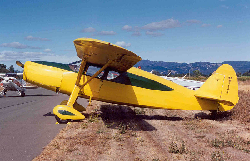 Fairchild 24R-46 civil