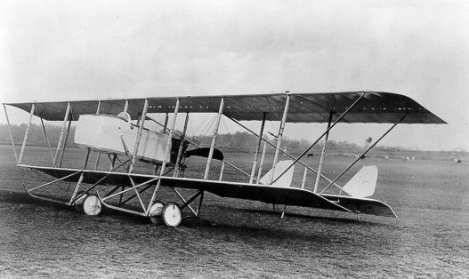 Farman MF.11 au sol