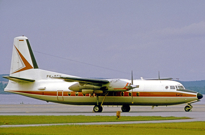 Fokker F27-200 Friendship civil