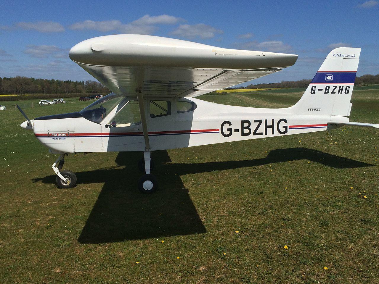 AviationsMilitaires net — Tecnam P92 Echo