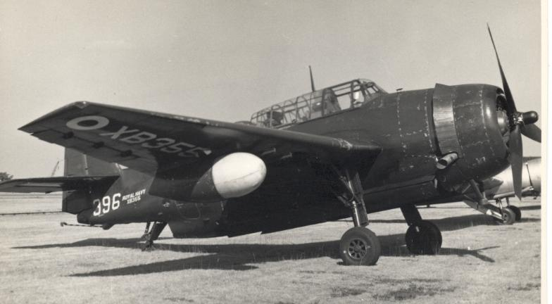 Grumman TBF Avenger AS.4 de la Royal Navy