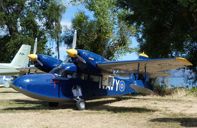 Grumman G-44 Widgeon I de la Royal Navy