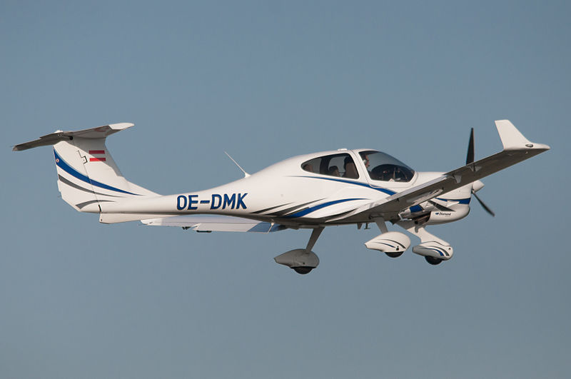 Diamond DA40 Diamond Star civil en vol