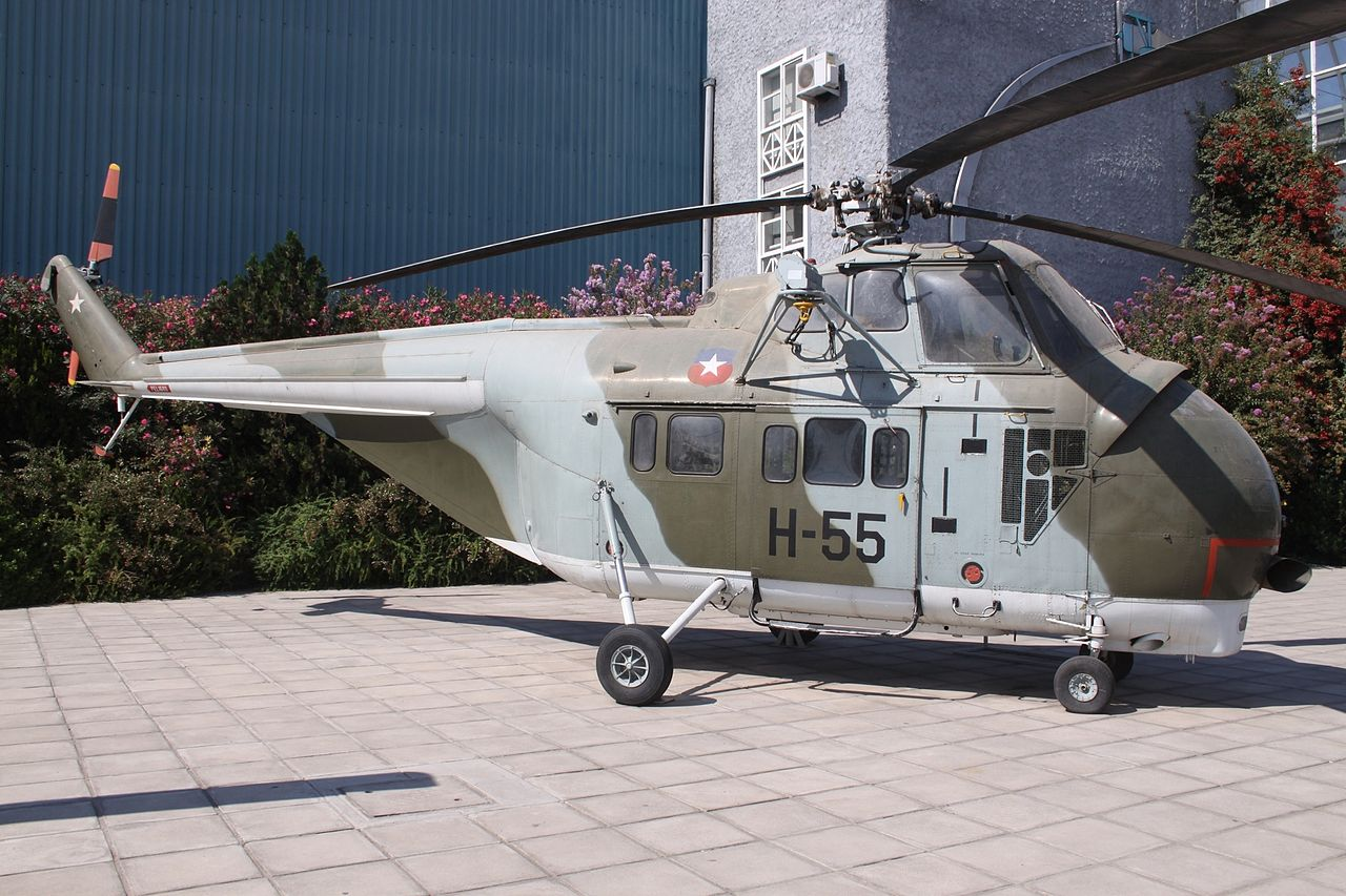 Sikorsky H-19 Chickasaw (S-55T) chilien