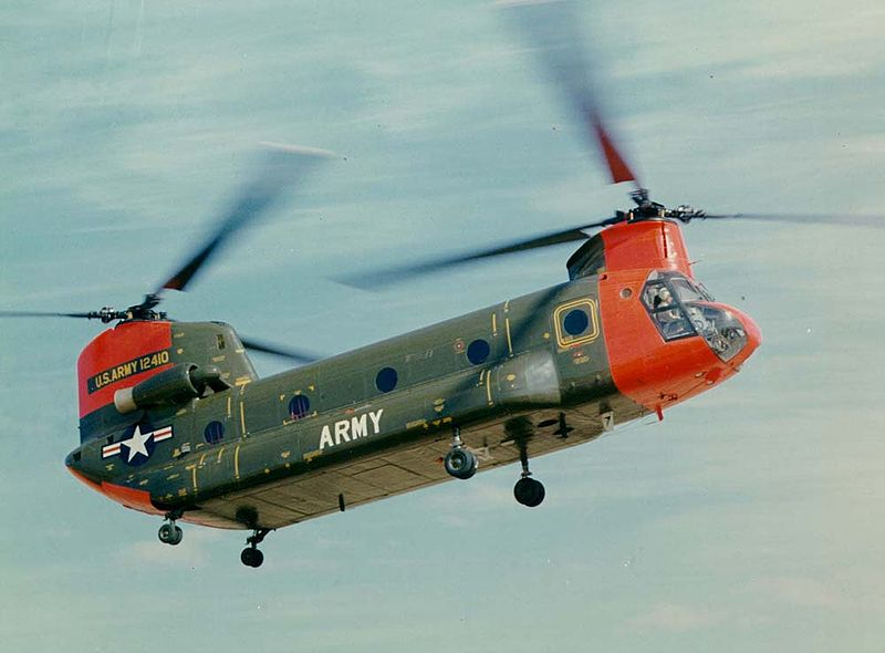 Boeing-Vertol CH-47A Chinook de l'US Army